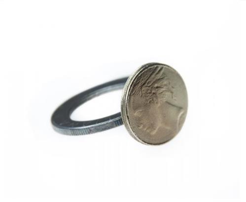 anello 500 lire Giovanni Scafuro