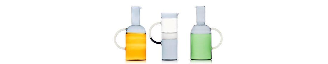 Bottiglie e Caraffe colorate in vetro Ichendorf