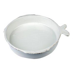 piatto ceramica linea lastra forma pesce per pasta virginia casa