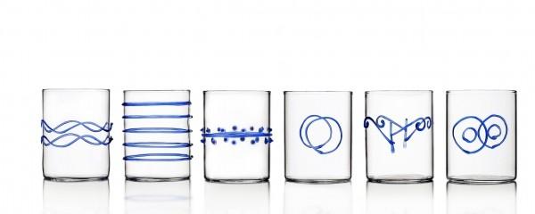 Set bicchieri Decò