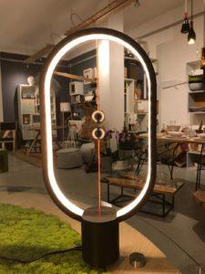 lampade ellittiche in legno
