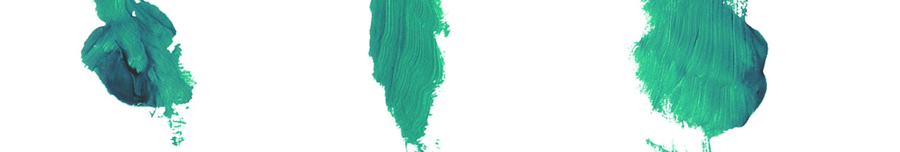 pennellate verdi su fondo bianco