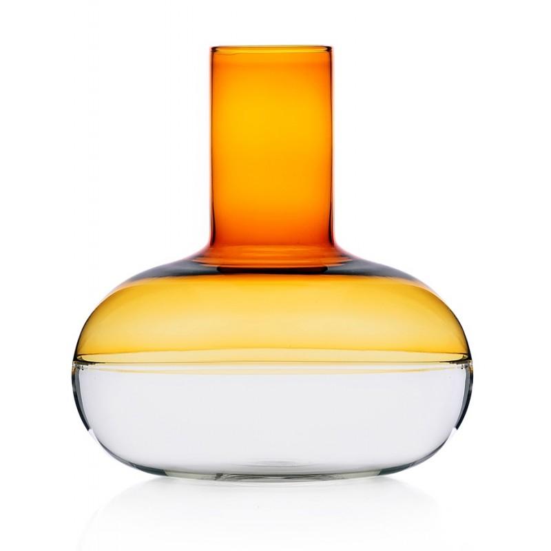 decanter in vetro color ambra e trasparente ichendorf