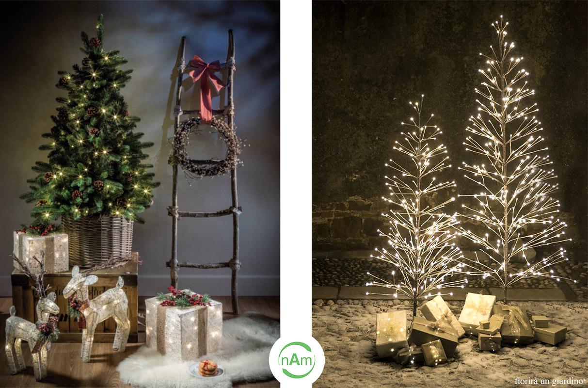 alberi di natale e decorazioni natalizie roma