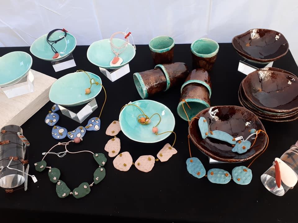 ceramiche artigianali colorate