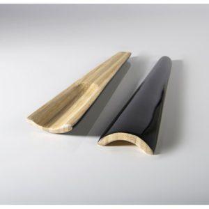 Insalatiera di bambù laccato verde - BIBOL