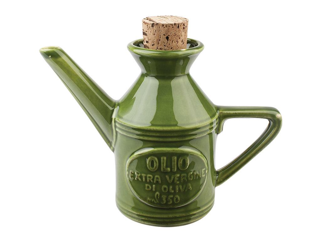 oliera in ceramica verde virginia casa