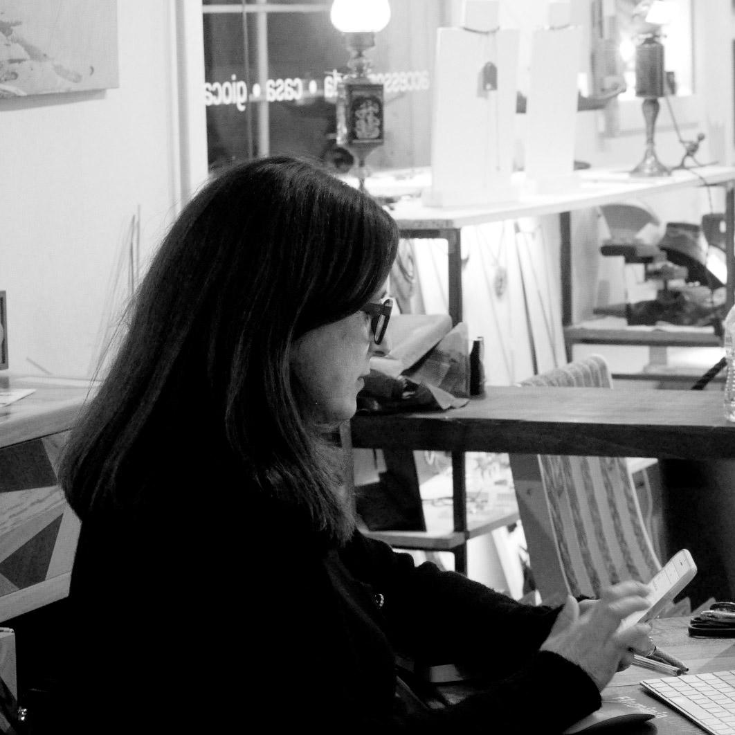 Angela Artese nam Ecodesign Roma