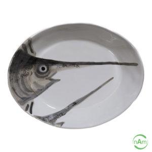 Vassoio Virginia Casa linea Marina pesce spada