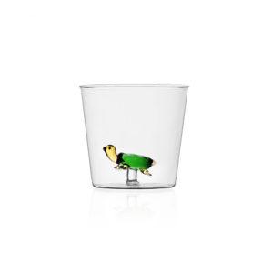 Bicchiere con tartaruga vetro Collezione Animal Farm Ichendorf Roma