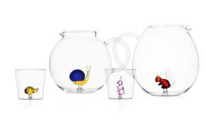 collezione brocche e bicchieri animal farm 2019 ichendorf