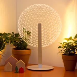 lampada LED studio Chea effetto ottico 3d