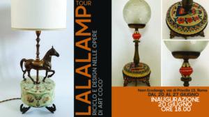 evento lampade vintage ecologiche Artcocò Roma nAm Ecodesign