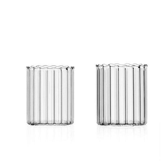 bicchieri laguna ichendorf decori a rilievo vetro trasparente