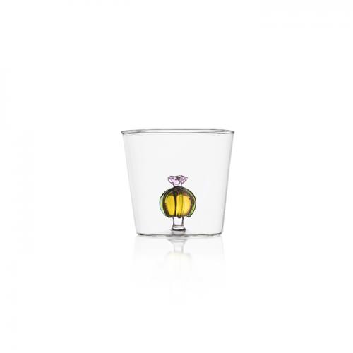 bicchiere linea cactus Ichendorf con fiore interno