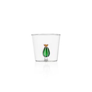 ichendorf bicchieri linea cactus vetro e cactus in vetro verde