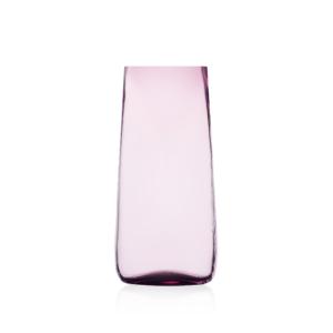 vaso alto in vetro lilla ichendorf milano