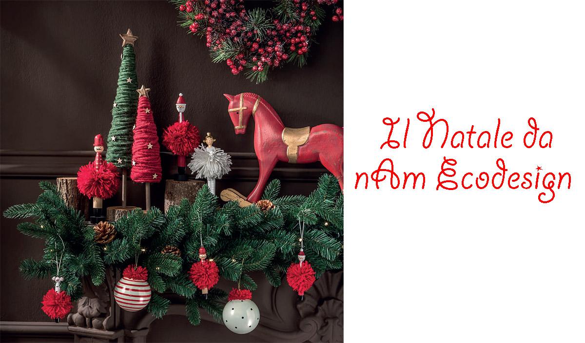 Albero Natale Decorato Rosso decorazioni albero di natale l'oca nera