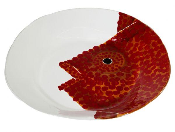Piatto di portata in ceramica linea corallo - Virginia Casa
