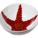 Insalatiera in ceramica linea corallo - Virginia Casa