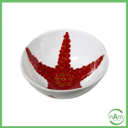 insalatiera stella marina corallo virginia casa
