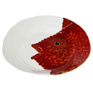 piatto da portata ovale linea corallo Virginia casa