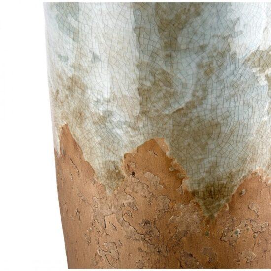 vado bottiglia stile industrial ceramica tipo raku