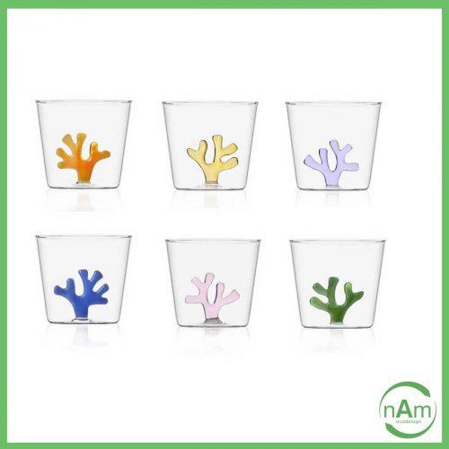 Set 6 bicchieri CORAL REEF - Ichendorf