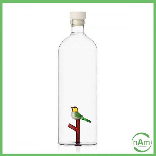 Bottiglia con tappo Animal Farm, uccellino sul ramo - Ichendorf